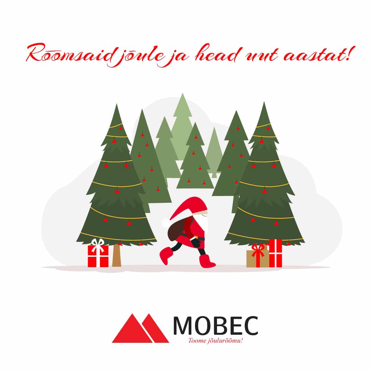 Mobec jõulukaart